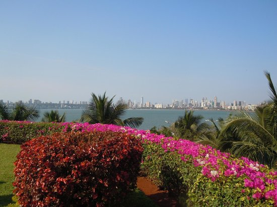 Trident, Nariman Point : view from the pool