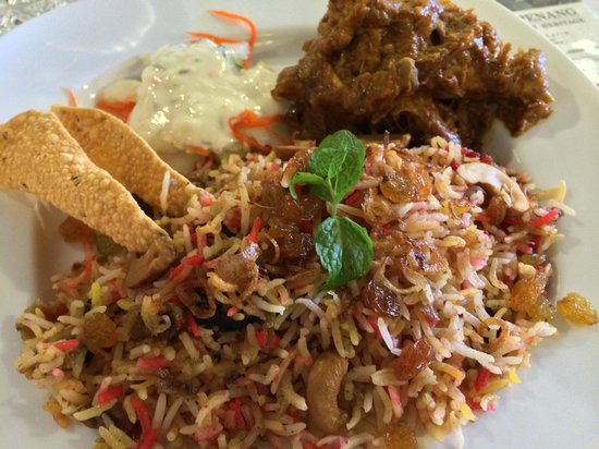Jawi House Cafe & Gallery: chicken biryani