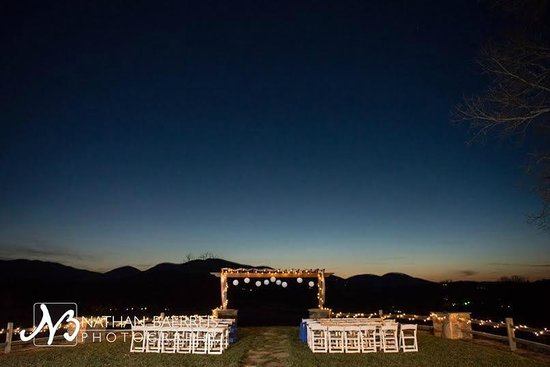 Brasstown Valley Resort & Spa: Wedding Venue After Dark