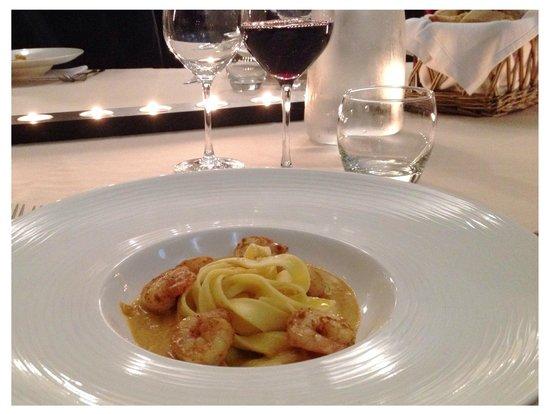 restaurant et chambre d'hôte : Notre dîner
