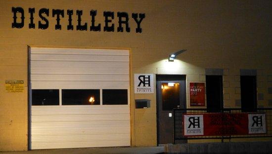 "Vapor Distillery: Our ""secret"" Front Entrance"