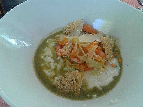 Le Blanc Manger : risotto