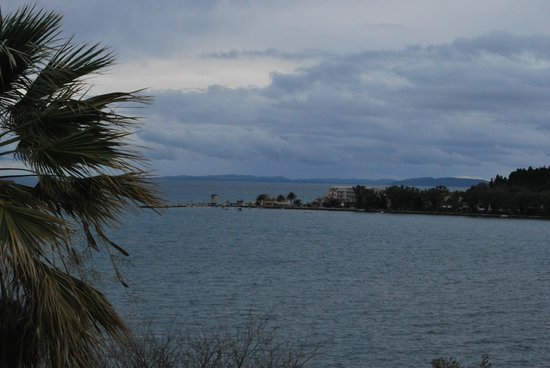 Corfu Palace Hotel: Garitsa bay view from room