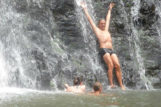 Tamarin Falls: BAIGNADE