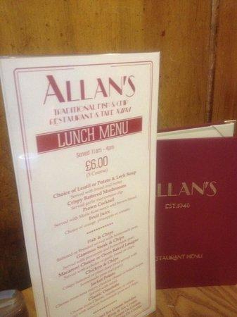 Allan's Snack Bar