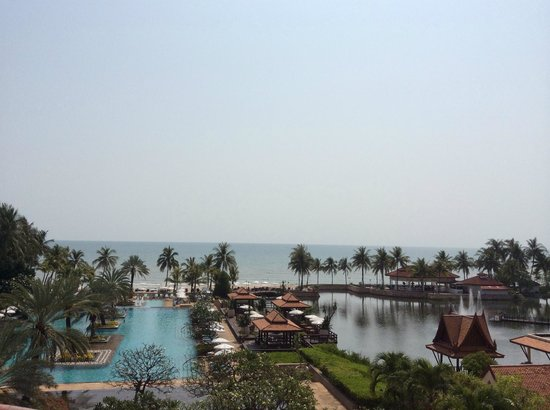 Dusit Thani Hua Hin: View from room 460