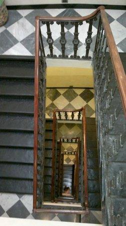 Best Western Hotel Metropoli: La tromba delle scale