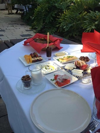 Shulamit Yard: The 'start' of breakfast