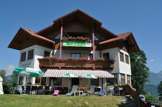Sportpension Thaler im Sommer