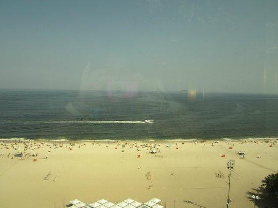 Arena Copacabana Hotel : vista desde la habitacion