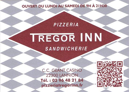 Tregor'Inn : Trégor Inn - Pizzeria Sandwicherie Lannion