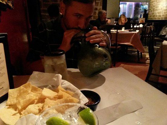 Miguel's Mexican Restaurant : Pitcher of very good margarita!