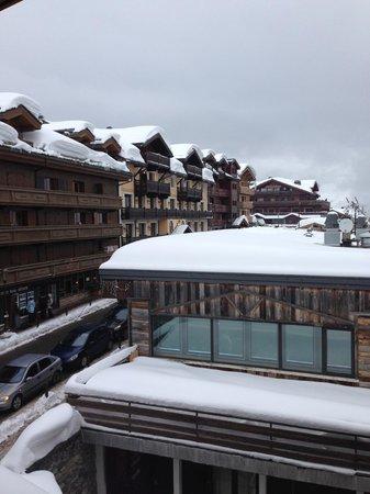 Hotel de la Loze: View from the room