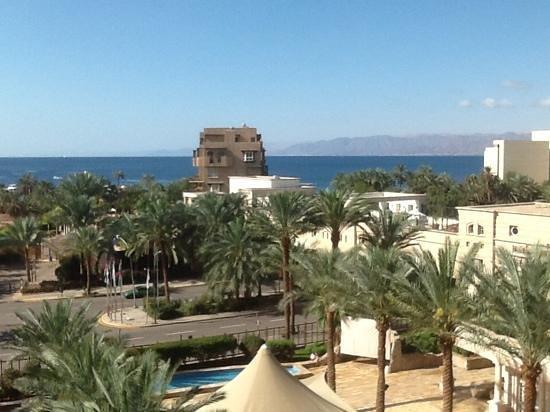 Movenpick Resort & Residences Aqaba : udsigt fra værelset