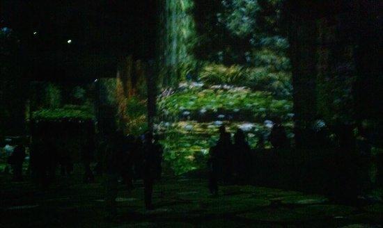Carrières de Lumières : Картины в карьере