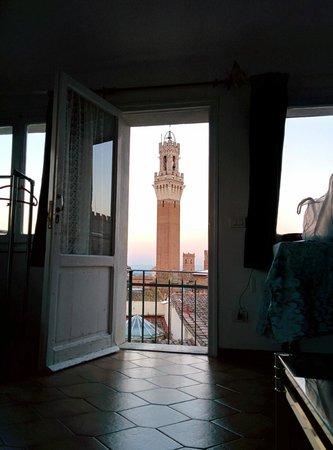 B&B Simonetta Siena: Vista dalla camera