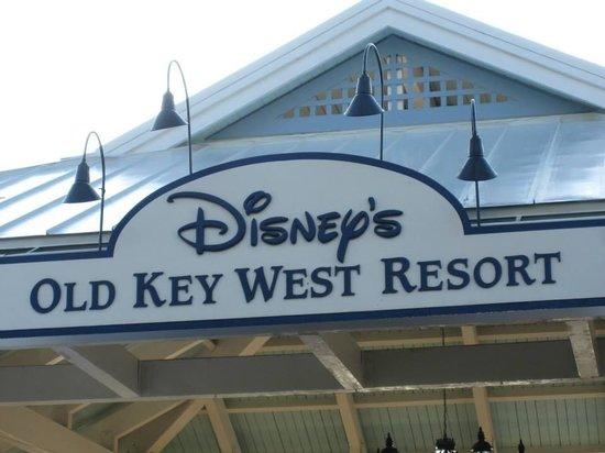 Disney's Old Key West Resort: Main Entrance