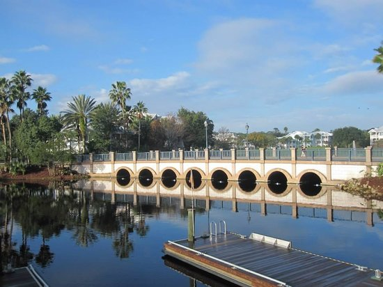 Disney's Old Key West Resort: Peninsular Point Bridge