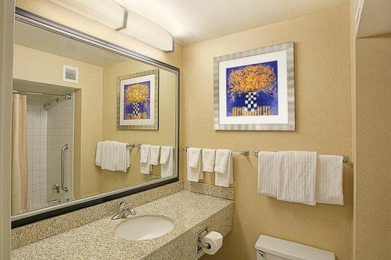 Quality Inn & Suites Valparaiso: Guest Bathroom