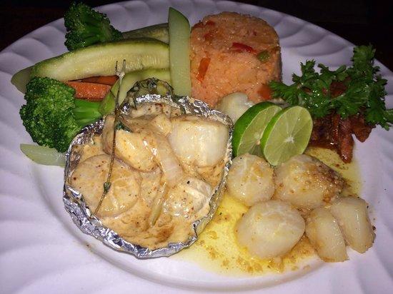 Misiones De Kino : Scallop dinner. Very good