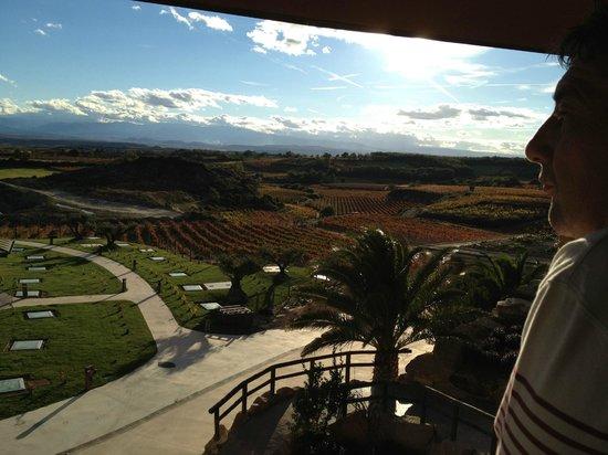 Hotel Eguren Ugarte : Vista desde la habitación