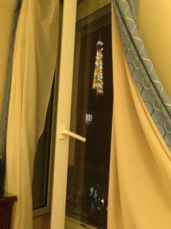 Hotel Relais Bosquet Paris : Hotel Room #44 View