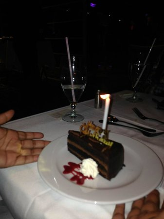Odyssey Cruises: Birthday Dessert