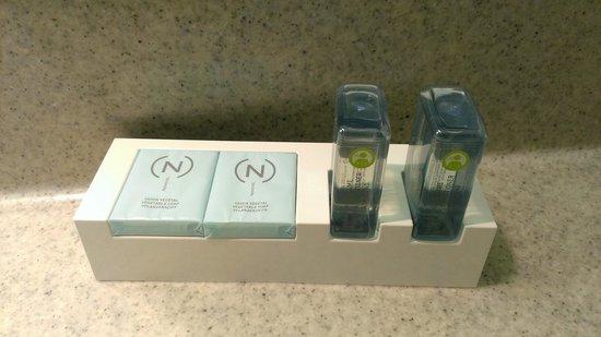 Novotel Köln City: les produits de la sdb