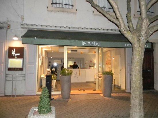Le kleber : façade du restaurant