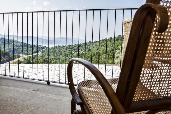 La Demba Arte-Hotel: Terraza