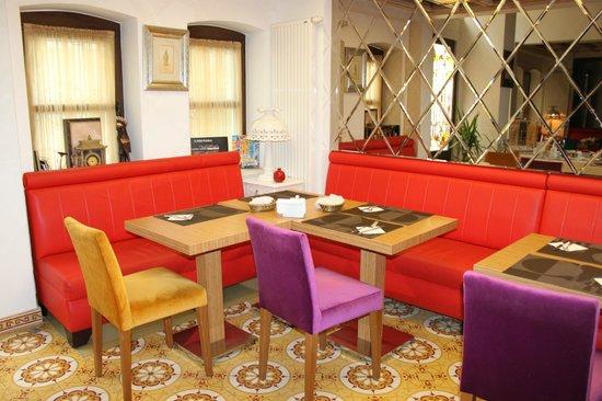 ottopera Hotel : ontbijttafels