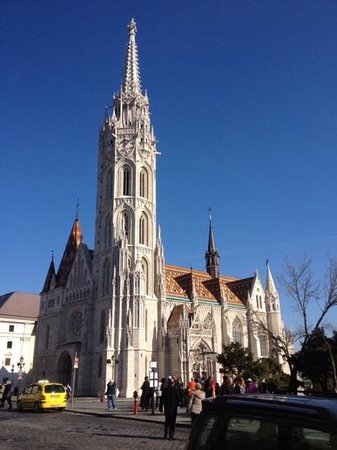 Hilton Budapest: church in budapest
