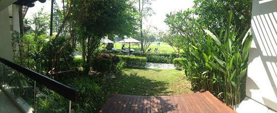 Summit Windmill Golf Residence: View from lounge Panoramic