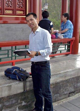 Stretch-A-Leg Travel-Day Tour: Tony, our tour guide