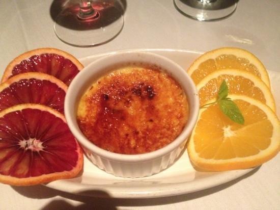 SeaVenture Restaurant: creme brûlée
