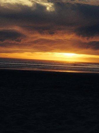 Pismo Pier: sunset