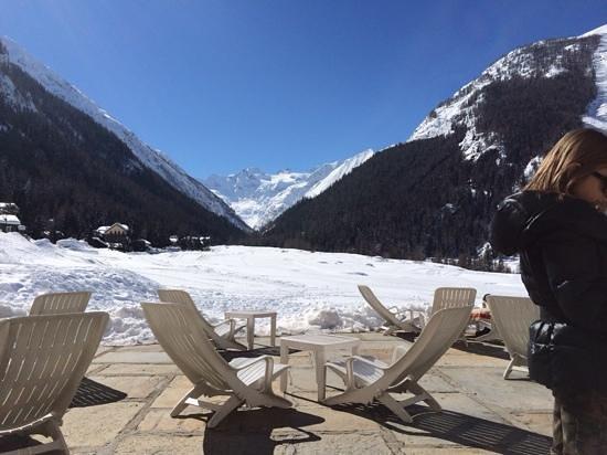 Bellevue Hotel & Spa : vista gran paradiso