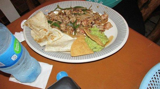 Oscar's Mexican Grill: Shrimp