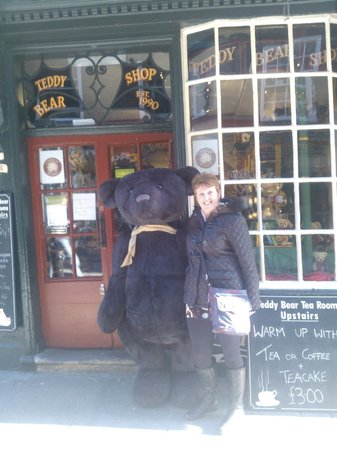 Mowbray House: Me and Teddy