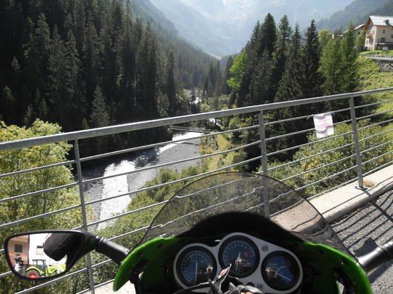 Stelvio Pass: on the switzerland side