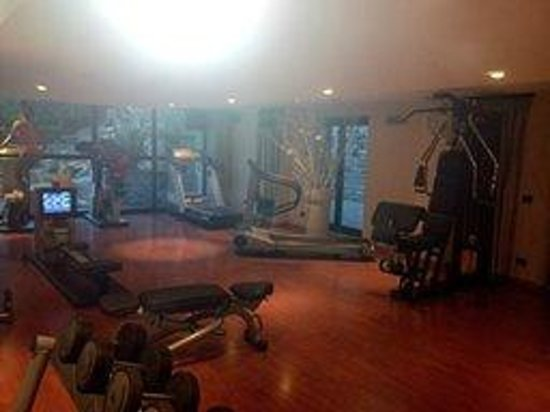 roseo euroterme wellness resort palestra