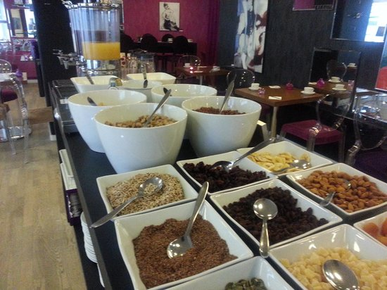 Andersen Boutique Hotel : Breakfast buffet