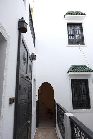Riad Shambala : View facing entrance to senior suite