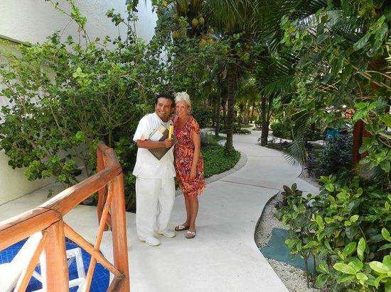 El Dorado Maroma, a Beachfront Resort, by Karisma: Daniel the masseur