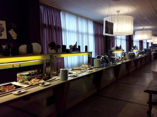 buffet - Picture of Roseo Euroterme Wellness Resort, Bagno di ...