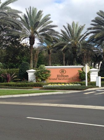 Hilton Grand Vacations at SeaWorld: Entrance