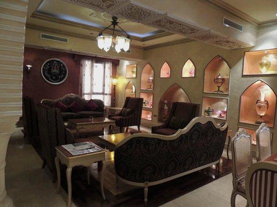 Souq Waqif Boutique Hotels by Tivoli : Hotel lobby/sitting area