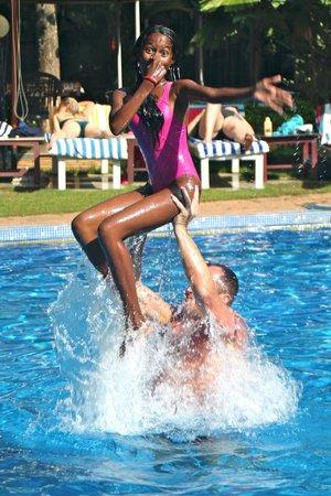 Akhil Beach Resort: the swimming-pool