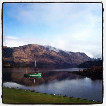 Isles of Glencoe Hotel & Leisure Centre: Our morning view