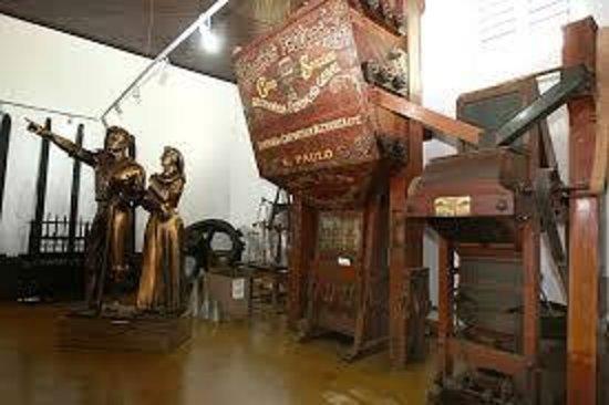 Coffee Museum: Máquinas de beneficiamento